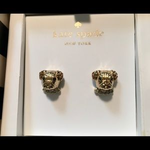 HOST PICK Kate Spade New York Pug Puppy Earrings